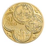 50 euros Semeuse 2015 en or 1/4 oz