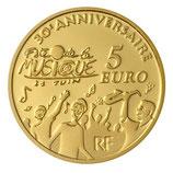 5 euros Europa 2011 en or 0,5 gr.