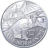 10 euros argent Basse-Normandie 2011