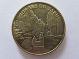 Médaille MDP Sainte-Enimie. SARL Malaval & fils. Gorges du Tarn. Les bateliers 2010