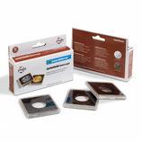 Boîte de 6 capsules carrées QUADRUM Intercept de 14 mm à 41 mm