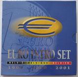 Euro introset Belgique 1999-2000-2001