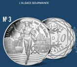 10 euros argent L'Alsace gourmande 2017
