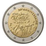 2 euros Fête de la musique BE 2011