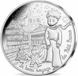 10 euros argent Petit prince au marché de Noël