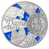10 euros argent Notre Dame de Paris 2013