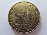 Médaille MDP  Paris. Sacré Coeur. 125 ans d'adoration perpétuelle 2009