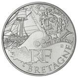 10 euros argent Bretagne 2012