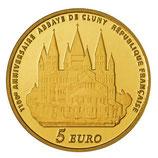 5 euros Europa 2010 en or 0,5 gr.