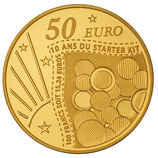 50 euros Semeuse 2011 en or 1/4 oz