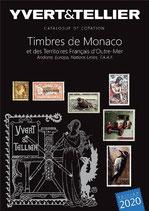 Catalogue Yvert et Tellier TOME 1 BIS - 2020 Timbres de Monaco