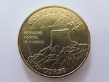 Médaille MDP Ota Porto. Golfe de Porto. Unesco 2010