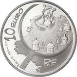 10 euros argent Astérix 2013