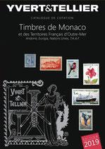 Catalogue Yvert et Tellier TOME 1 BIS - 2019 Timbres de Monaco
