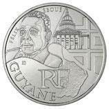 10 euros argent Guyane 2012