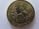 Médaille MDP  Vaux devant Damloup. Fort de Vaux 2008