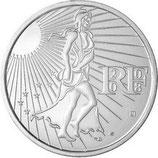 15 euros argent Semeuse 2008