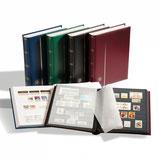 Classeur à bandes COMFORT, Din A4, 32 et 64 pages couleur noir, couverture ouatinée.