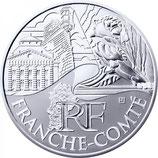 10 euros argent Franche-Comté 2011
