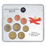 Mini-set BU euro - Naissance garçon - 2019