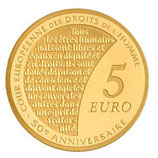 5 euros Semeuse 2009 en or 1/25 oz
