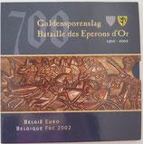 Brillant universel Belgique Bataille des éperons d'or 2002