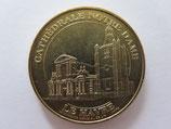Médaille MDP Le Havre. Amicale numismatique. Cathédrale Notre Dame 2010