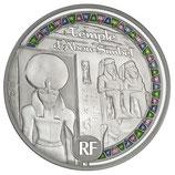50 euros argent Egypte Temple d'Abou Simbel 2012