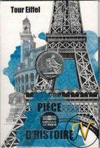 10 euros argent Tour Eiffel 2019