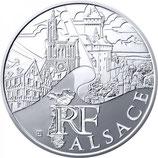 10 euros argent Alsace 2011