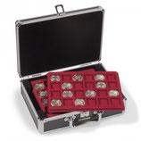 Valisette CARGO S6 NOIR pour 144 monnaies jusqu'à 33 mm