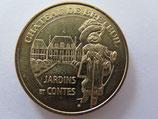 Médaille MDP  Choisel. Château de Breteuil. Jardins et Contes. Le chat botté 2011