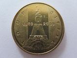 Médaille MDP Paris. Tour Eiffel. 120 ans. 1889-2009. 2010