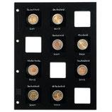 Compléments album MATRIX pour classer les monnaies sous étui cartonné