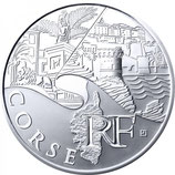10 euros argent Corse 2011