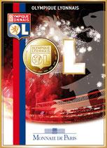 1,50 euro Olympique lyonnais OL 2009