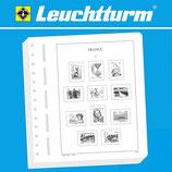 Feuilles Leuchtturm timbres Berlin (23 B)