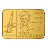 100 euros Georges Braque 2010 en or 1/2 oz