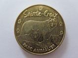 Médaille MDP Rhodes. Parc animalier de Sainte Croix. Les loups 2010