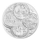 10 euros argent Semeuse Le Franc à cheval 2015