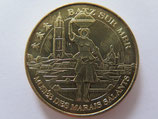 Médaille MDP Batz sur Mer. Musée des marais salants. La porteuse de sel 2009