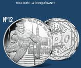 10 euros argent Toulouse la conquérante 2017