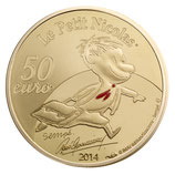 50 euros petit Nicolas 2014 en or 1/4 oz