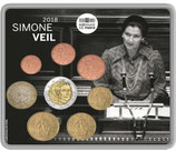 Mini-set BU euro - SIMONE VEIL - 2018