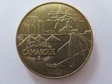 Médaille MDP Aigues-Mortes. Le saunier de Camargue. La récolte 2010
