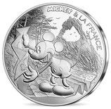 10 euros argent Mickey balade de toute beauté 2018