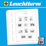 Feuilles Leuchtturm timbres Andorre poste française (07 F)