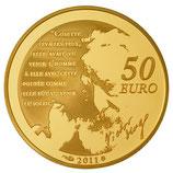 50 euros Cosette 2011 en or 1/4 oz