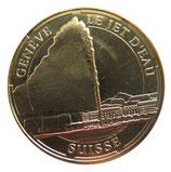Médaille MDP Suisse Genève Le jet d'eau 2014