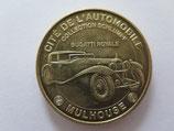 Médaille MDP Mulhouse. Cité de l'automobile. Bugatti royale 2010
